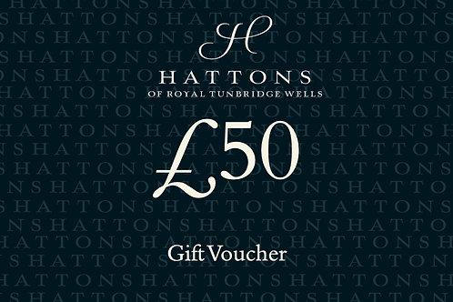Hattons £50 Gift Voucher