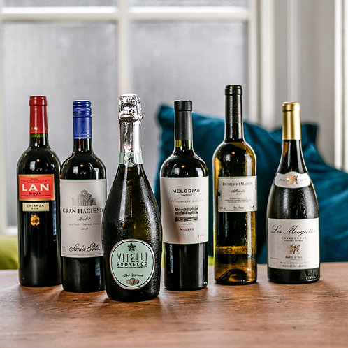 Winter Mixed Wine Case 12 bottles
