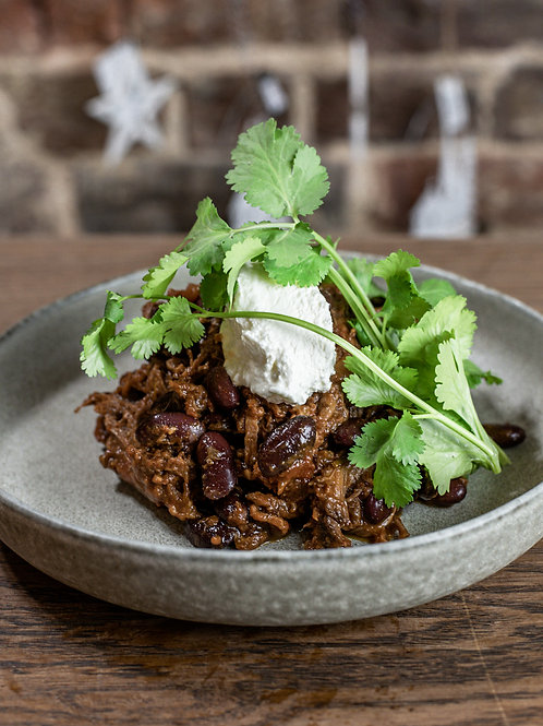 Slowed Braised Beef Brisket Chilli Con Carne For Two People