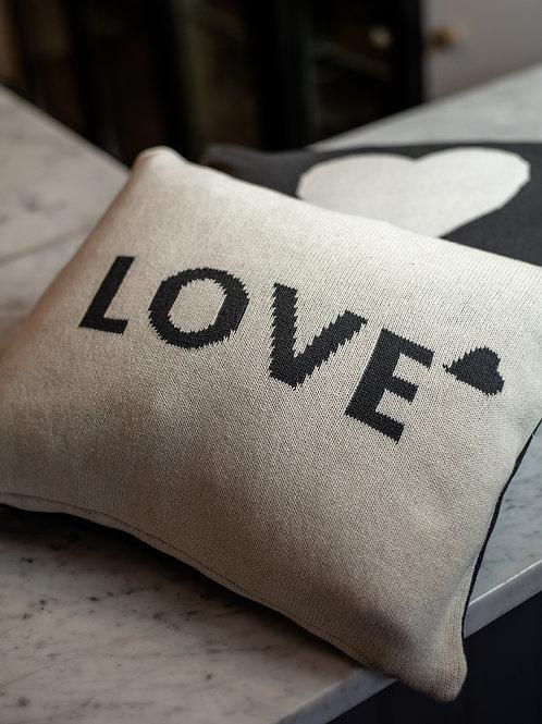 Rectangular Reversible Love Cushion