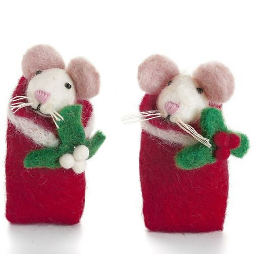 Swaddling Mice With Holy Or Mistletoe
