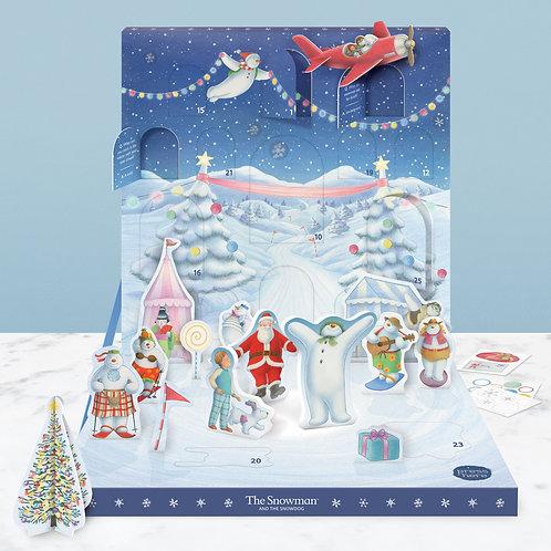 The Snowman Music Box Advent Calendar
