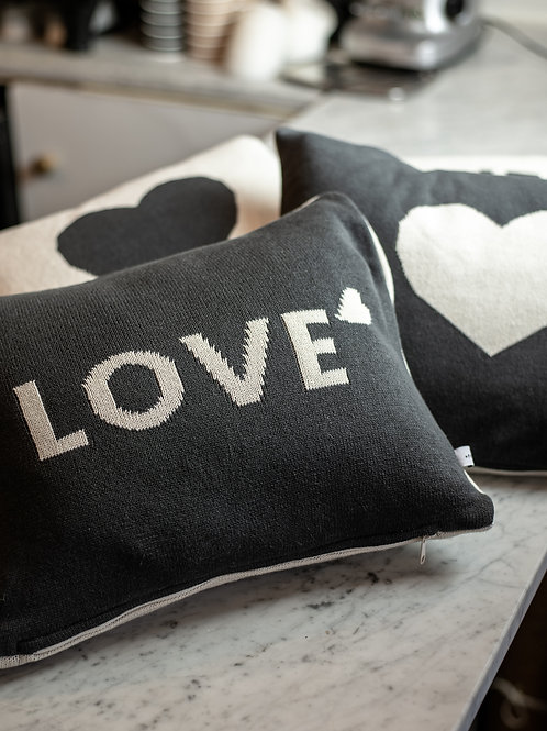 Reversible Heart Cushion