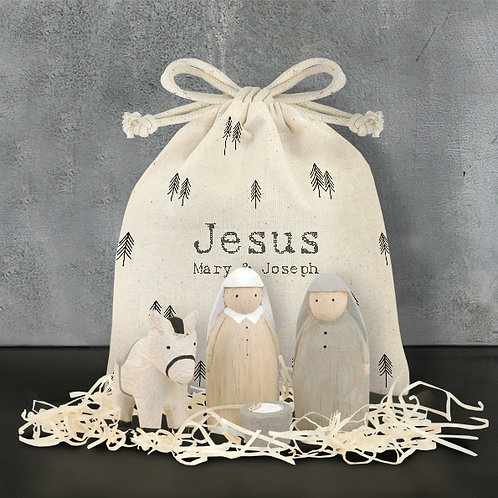 Bag set-Jesus, Mary & Joseph
