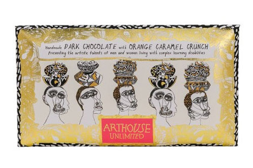 Figureheads Dark Chocolate with Orange Caramel Crunch