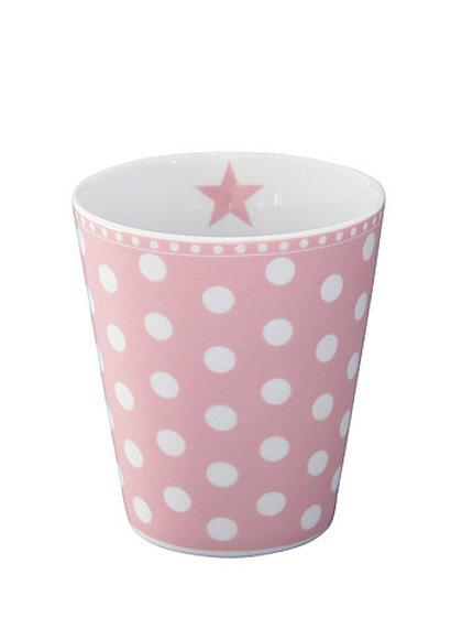 Pink Dotty Beaker