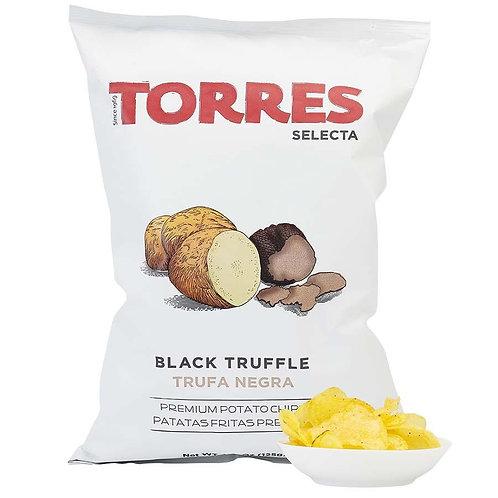 Torres Black Truffle Potato Crisps, 125g