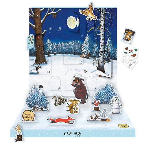 Gruffalo Music Box Calendar