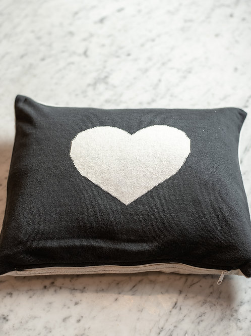 Reversible Heart Cushion