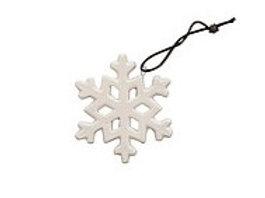 Ornate Hanging China Snowflake Decoration