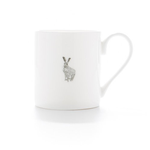 Fine Bone China Hare Mug