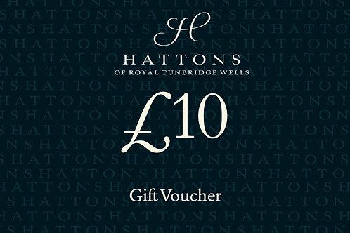 Hattons £10 Gift Voucher