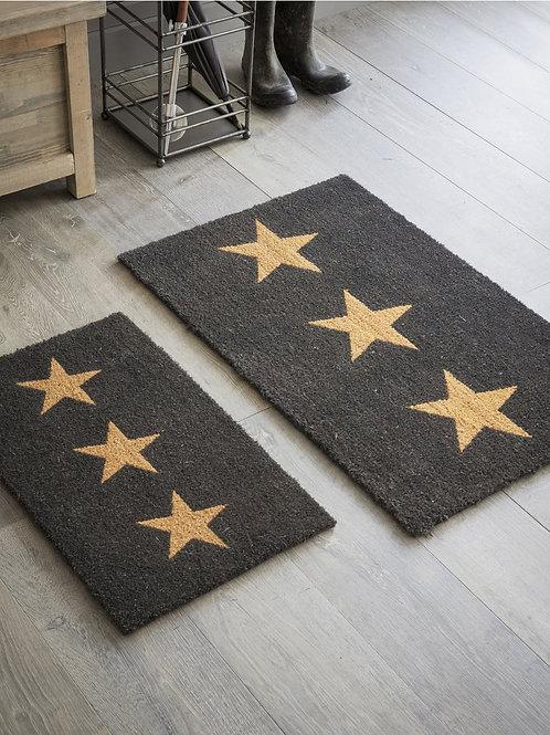 DOORMAT 3 STARS COIR