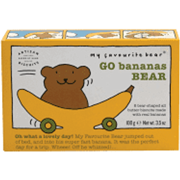 Go Bananas Bear Biscuits 100g