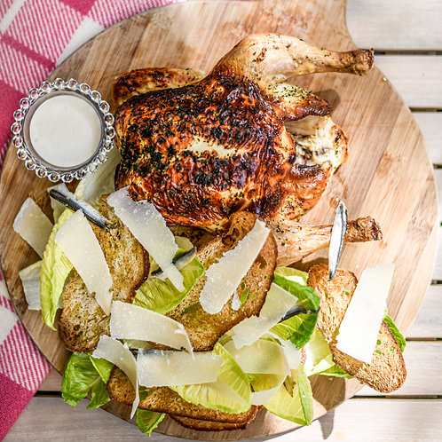 Whole Roast Chicken Caesar Salad