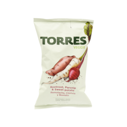 Torres Vegetable Potato Crisps, 90g