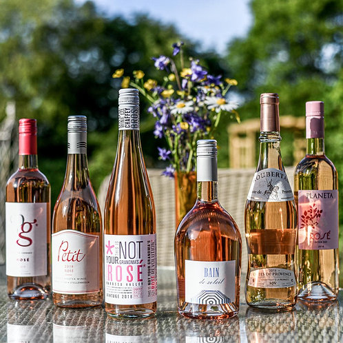 Exploring Rosé Wine Case