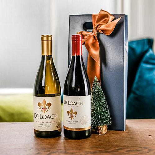 California, Lovers Wine Gift Set