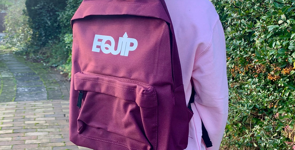 Classic Junior Backpack | Burgundy