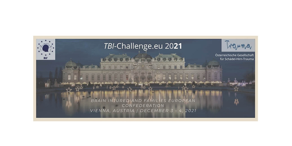 TBI-Challenge 2021 - Biennial Conference of the Brain Injury and Families / European Confederation (BIF) (1)