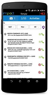 Impact Executive Mobile App Beat View