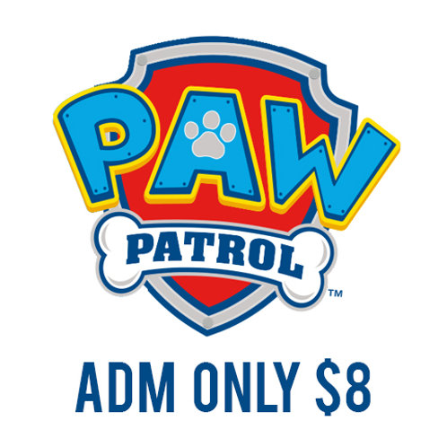 Paw Patrol Skate! (Admission Only - No Photo)