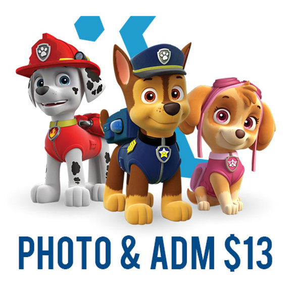 Paw Patrol Skate! (Admission & Photo with Chase, Marshall, or Everest)