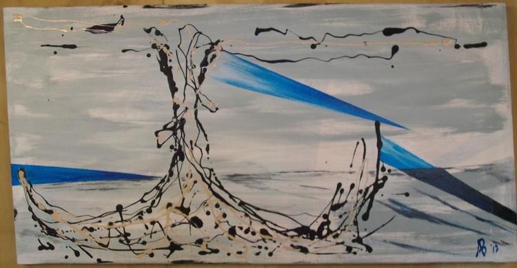 """Beach Stump"" by alan baddiley"
