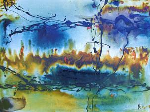 """""""Bush Fire"""" by alan baddiley"""