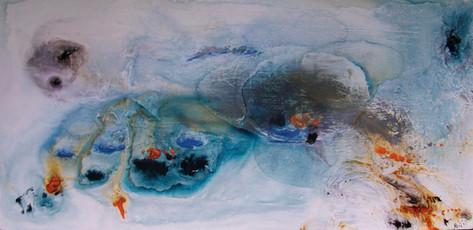 """Glacial Pools"" by alan baddiley"