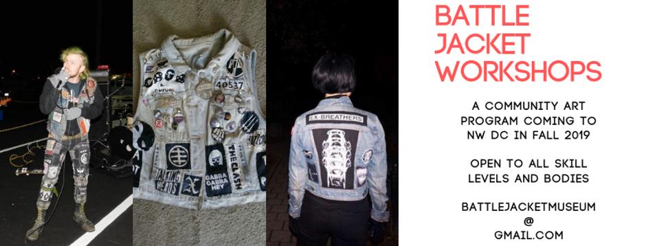 Battle Jacket Workshops Facebook Event B