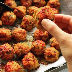 Chicken Parma Meatballs