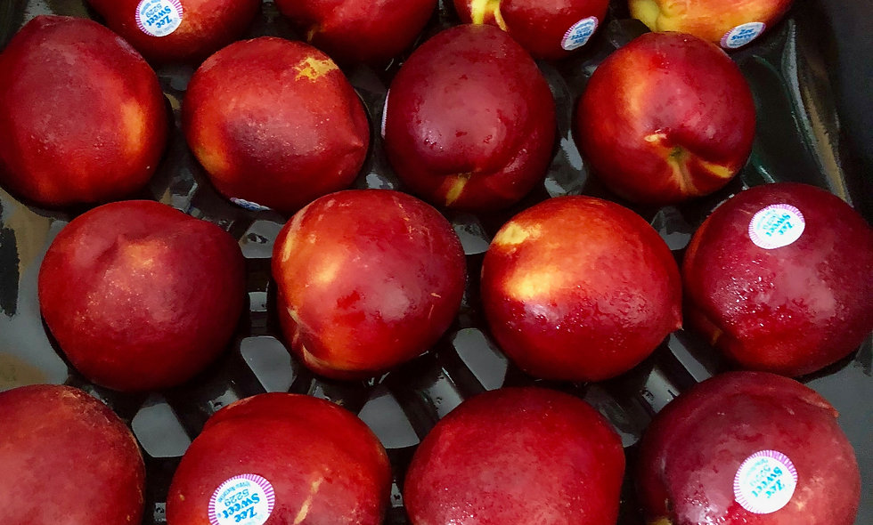 Tray Yellow Nectarines OR Peaches