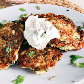 Fritters for breakfast, lunch or dinner