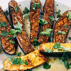 Roasted Spiced Eggplant