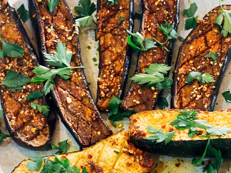 Roasted Spiced Eggplant