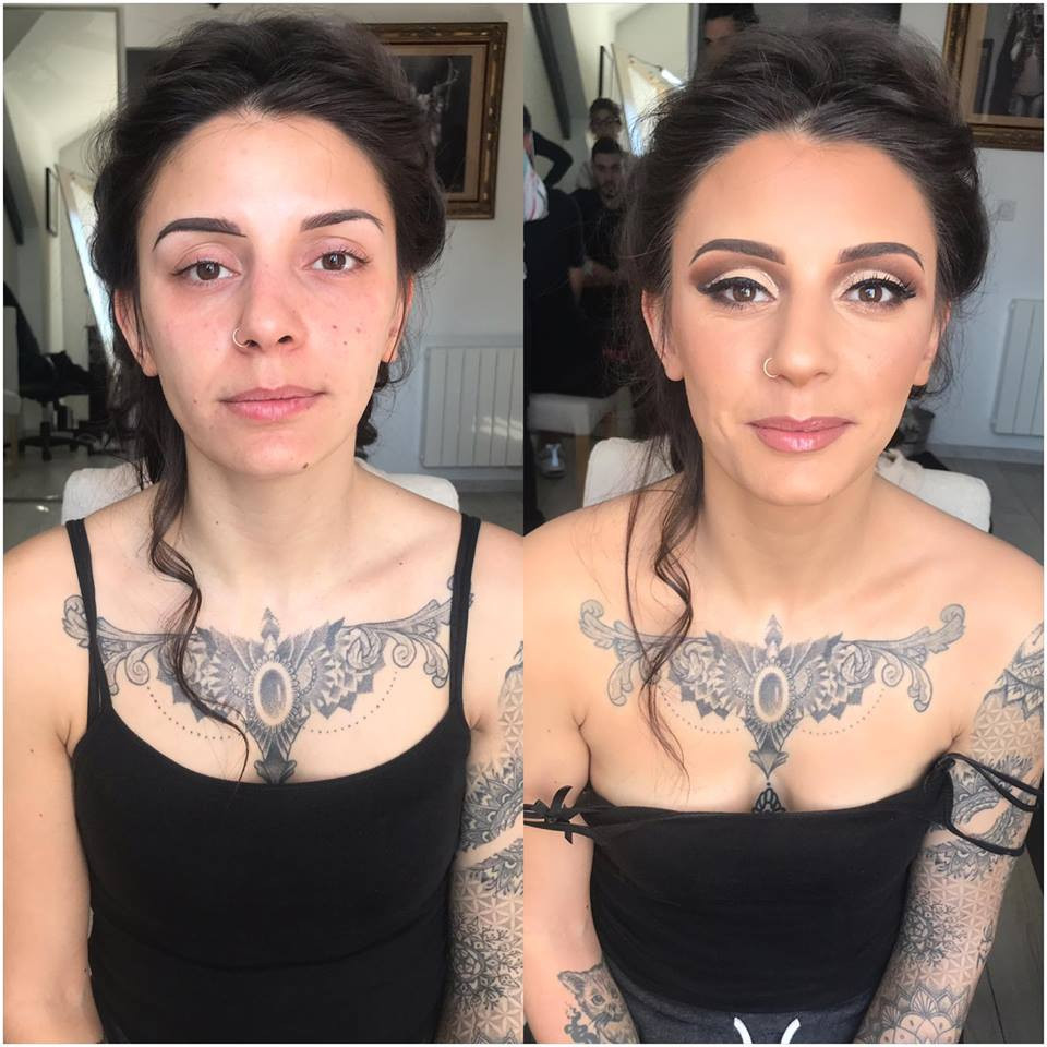 maquillage mariage impressionnant wedding make up stunning prodij meriem makeup mua burgundy bourgogne dj dijon