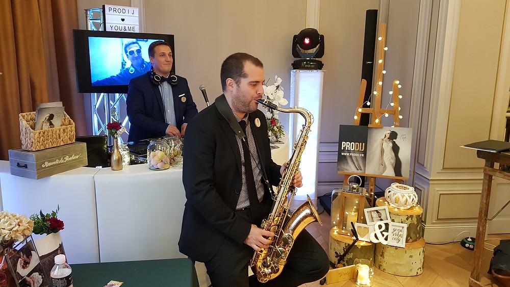 sax saxo saxophoniste musique mariage dj mix dijon prodij