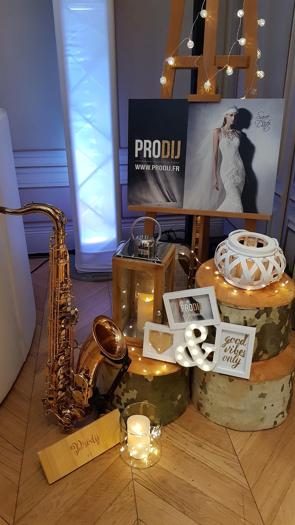 mariage saxophone saxophoniste mix live musique dijon bourgogne prodij