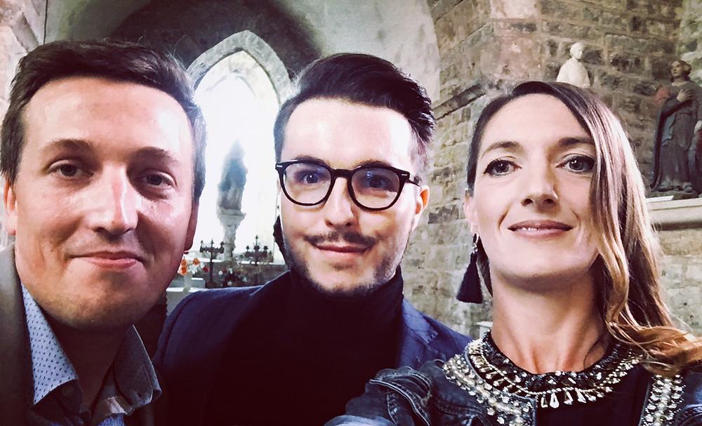 Prodij.fr et le chanteur de The Voice Olympe  cérémonie inoubliable DJ Dijon Mariage