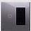 Thumbnail: Interruptor y tomacorriente con placas de vidrio templado