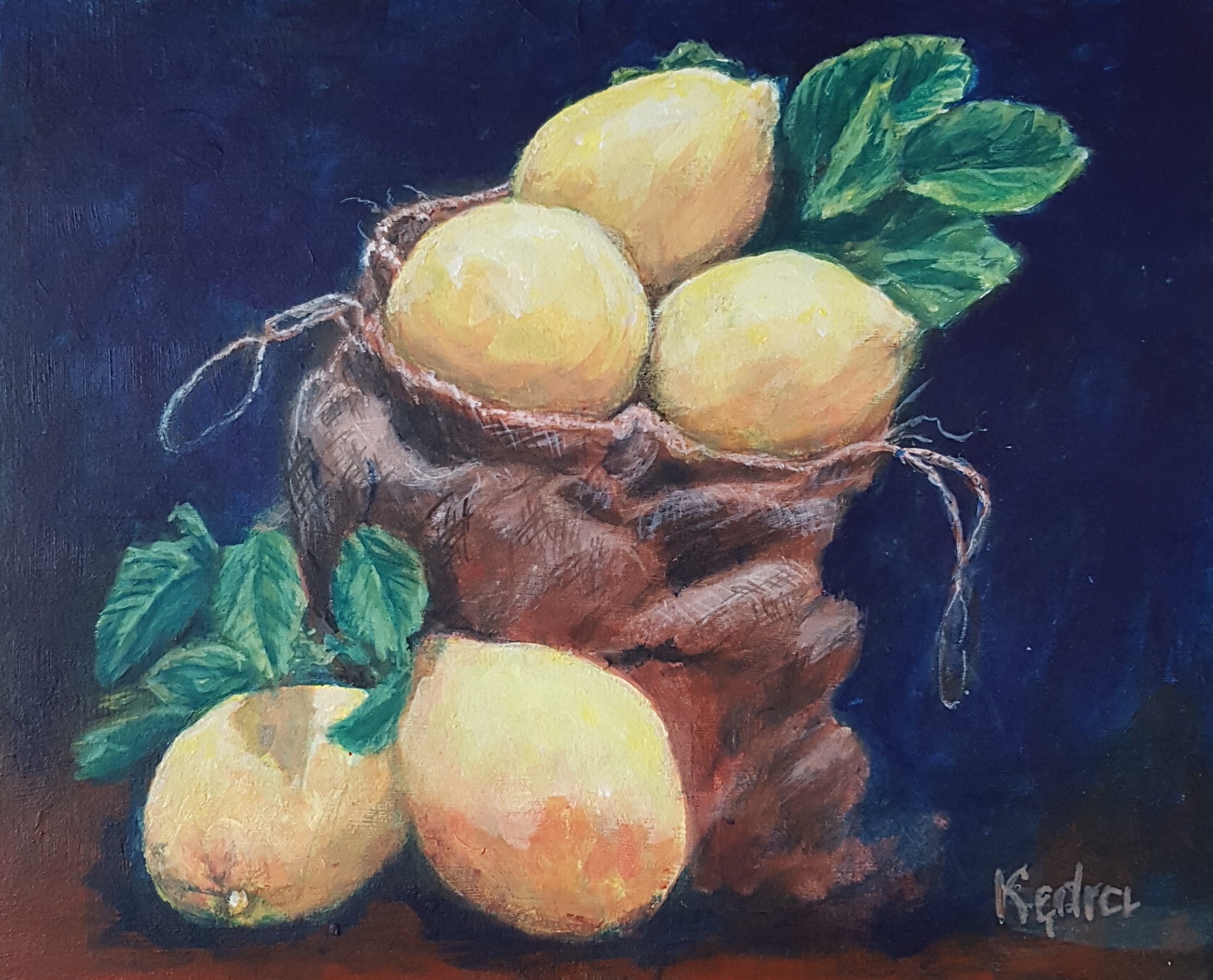 Still Life with Lemons