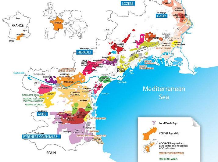 Languedoc Map