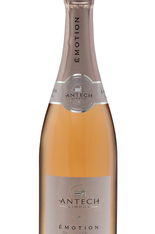 Antech - Emotion 2018    AOC Crémant de Limoux Rosé - Chardonnay/Chenin/Pinot
