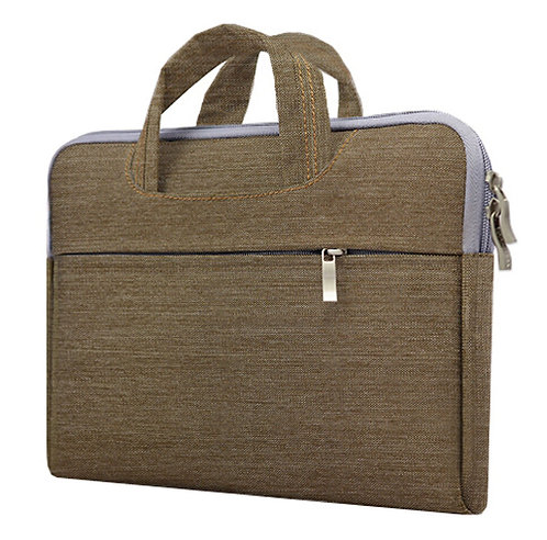 Fashion 14 Inch Laptop Sleeve Simple Professional Protective Sleeve BROWN