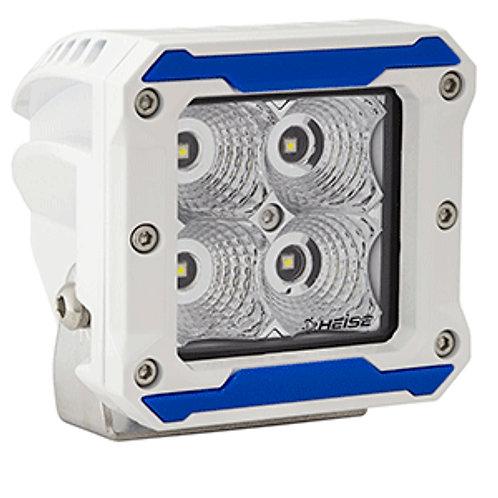 """HEISE 4 LED Marine Cube Light - Flood Beam - 3"""""""