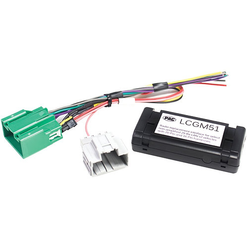 PAC LCGM51 Radio Replacement Interface for Select Nonamplified GM Vehicles (29-B
