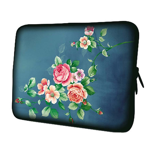 Beautiful Flower Laptop/Tablet Computer Bags, Protective Sleeves