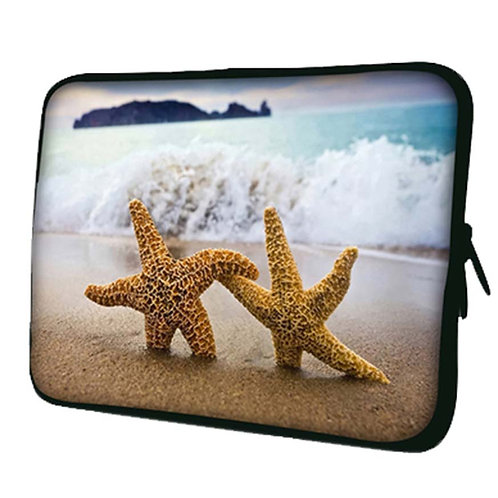 Creative Starfish Pattern Laptop/Tablet Computer Bags, Protective Sleeves