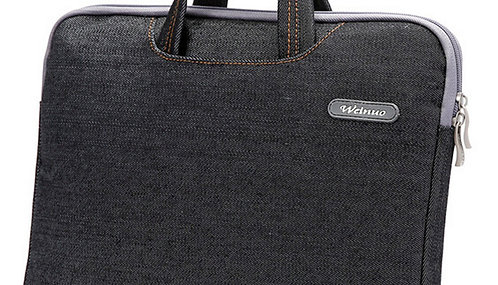 Fashion 14 Inch Laptop Sleeve Simple Professional Protective Sleeve BLACK